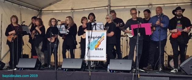 Bayside Ukes Sandy Village Festival 2019